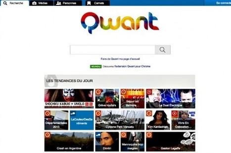 Les Inrocks - Qwant: le moteur de recherche européen mise sur les réseaux sociaux et les enfants, pour rattraper Google | Les Outils du Community Management | Scoop.it