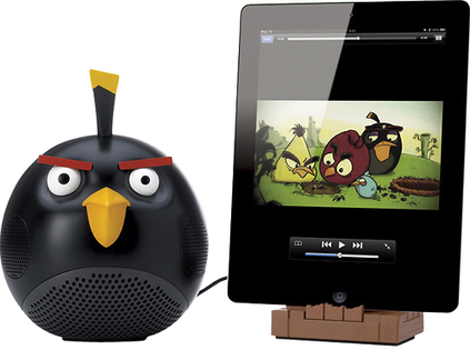 iHog and Black Bird: 2 Speaker Docks Worth Considering For Your Music Loving Kid | Angry Birds | Scoop.it