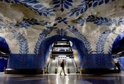Stockholm Metro: The World's Longest Art Gallery | Symbols | Scoop.it