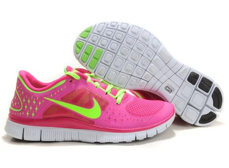 Womens Nike Free Run 3 Neon Grey Pink uk sale footlocker pictures   nike free run uk   Scoop.it
