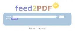 6 services en ligne pour convertir vos flux d'informations rss en fichiers pdf | Infodoc, Veille et e-reputation | Scoop.it