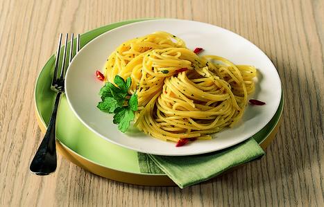 Ricetta Spaghetti aglio, olio e peperoncino - La Cucina Italiana: ricette, news, chef, storie in cucina   La Cucina Italiana - De Italiaanse Keuken - The Italian Kitchen   Scoop.it