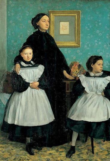 LA MUJER BURGUESA SEGÚN DEGAS. RETRATOS. « Algargos, Arte e Historia - La Coctelera | EnsimismArte | Scoop.it