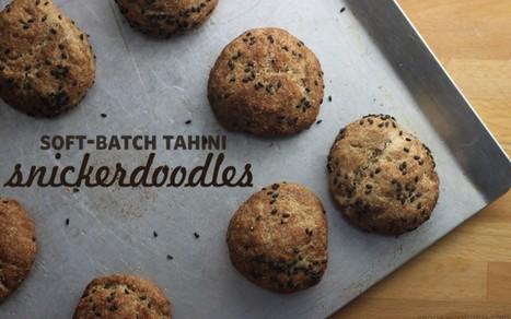 Soft-Batch Tahini Snickerdoodles [Vegan] | My Vegan recipes | Scoop.it