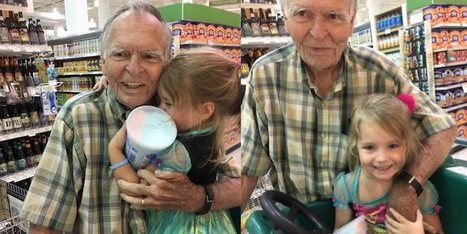 Grieving Man Can Sleep Again After Girl Reaches Out in the Grocery Store - Good News Network | This Gives Me Hope | Scoop.it