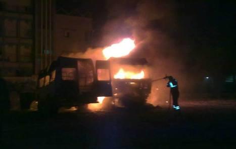Truck explodes in Tripoli, sets nearby Iveco alight - Libya Herald | Saif al Islam | Scoop.it