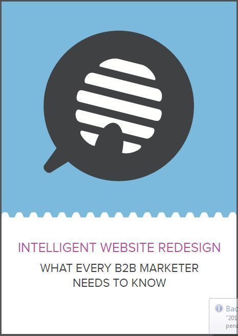 B2B Marketing Whitepapers: Intelligent Website Redesign: What Every B2B Marketer Needs to Know | Content Marketing | Scoop.it