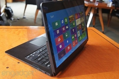 Sony's VAIO Flip PC convertible laptops get priced in Japan | Technology news | Scoop.it
