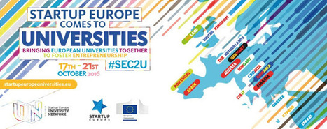 #SEC2U Startup Europe comes to universities: uniting universities and startup ecosystems  @SEUniversities @StartUpEU #Ansipblogs | Organización y Futuro | Scoop.it