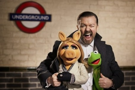 First Look At Ricky Gervais' Muppets Character | Animation News | Scoop.it