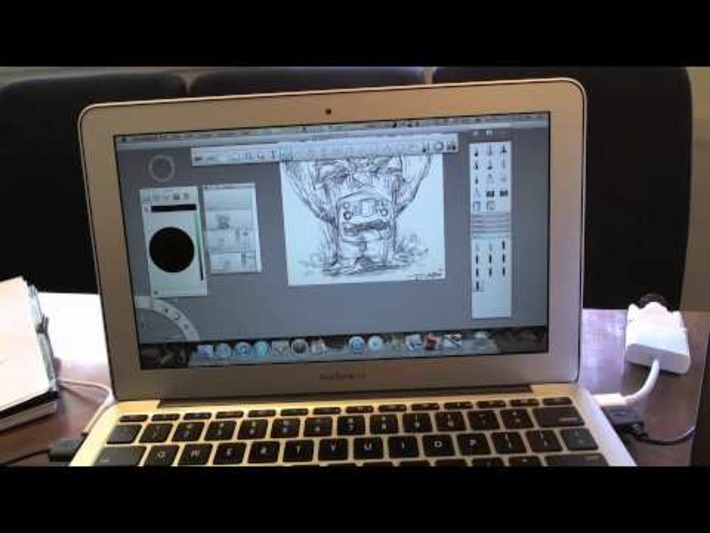 Wacom Inkling Review – Wacom sketch manager « Safegaard – Movie Theater | Machinimania | Scoop.it