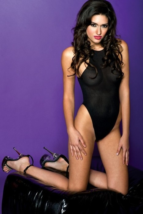 Cut out back opaque teddy - LegsAppeal.com | legsappeal | Scoop.it