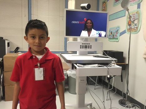 Thousands Of Texas Kids Can Now Visit The Doctor, From School, With Telemedicine | KERA Breakthroughs | El pulso de la eSalud | Scoop.it