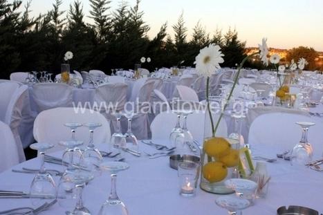 Στολισμός Γάμου με θέμα λεμόνια | gamos | Scoop.it
