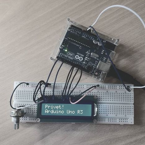 Insta-Arduino | #Arduino #Uno #R3 #Display #LCD #LiquidCrystal... | Raspberry Pi | Scoop.it