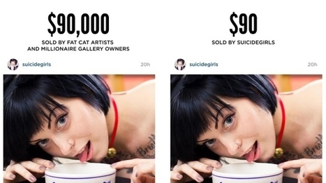 Richard Prince, Instagram 'ripoff artist,' has own art appropriated | Soup for thought | Scoop.it