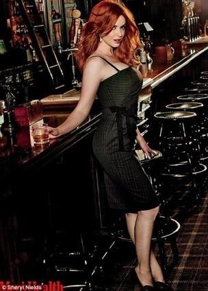 Watch Christina Hendricks in a Whisky advert