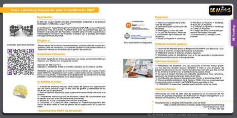 BeMarks | Formación, Certificación y Herramientas PMP | Scoop.it