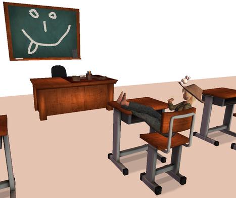 School Daze Hunt - #1 - Nocturnal Needs - Complete School Set | Second life exploring | Scoop.it