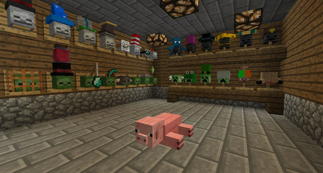 Hat Stand 1.6.2 Mod for Minecraft 1.6.2/1.5.2 | Hat Stand Mod | Scoop.it