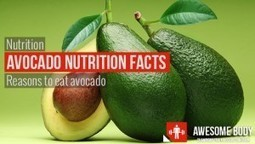 Avocado Nutrition Facts | Information About Nutrition Health Benefits | FOOD TECHNOLOGY  NEWS | Scoop.it