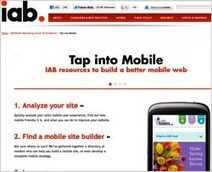 MediaPost Publications IAB Launches Hub For Mobilizing Web Sites 06/08/2012