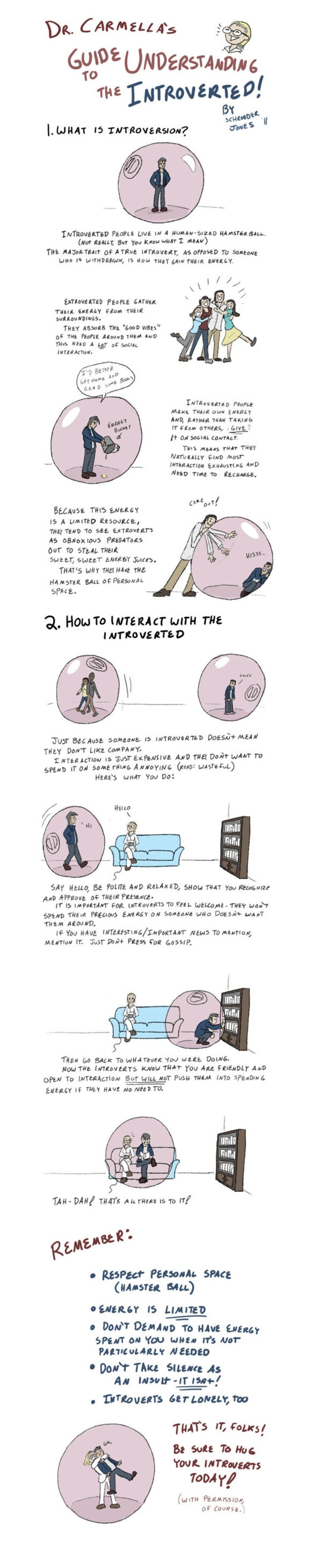 Your Guide To Interacting With An Introvert   Knowledge Broker   Scoop.it
