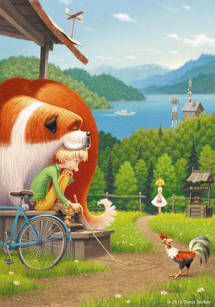 Children's Book Illustrations by Denis Serkov #art #illustration #books | Illustration Inspiration | Scoop.it