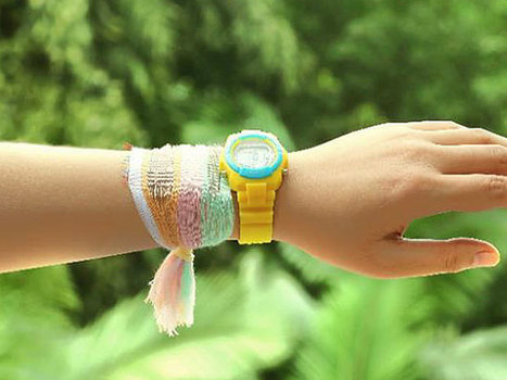 Walk Around in the Sun to Power Wearables With This Cloth | MishMash | Scoop.it