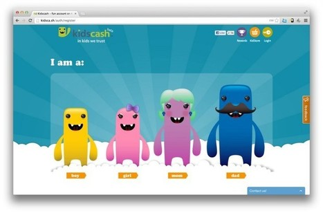 KidsCash: Fun, educational online money-management for kids || Newshour | Libraries, Leadership and Foresight. | Scoop.it