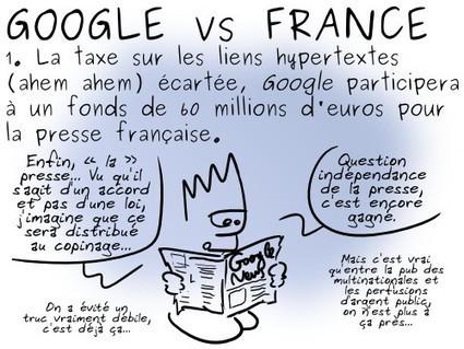 Geektionnerd : Google vs France - Framablog   Libertés Numériques   Scoop.it