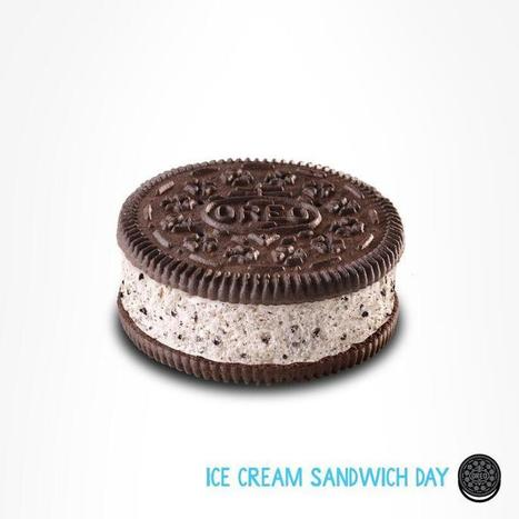 Twitter / Oreo: It's National Ice Cream Sandwich ... | Oreo | Scoop.it