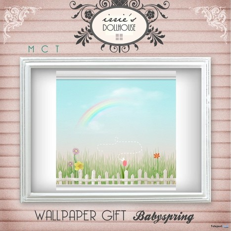 Babyspring Wallpaper by irrie's Dollhouse | Teleport Hub - Second Life Freebies | Second Life Freebies | Scoop.it