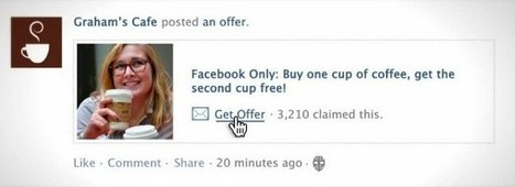 Facebook Offers Now Available for Some Small Businesses | Tribe Building with Facebook Marketing - Business Social Media | Scoop.it