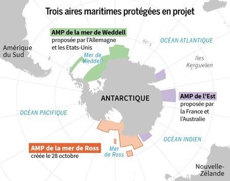 En Antarctique, la mer de Ross sera sanctuarisée - Le Monde | CAPLP lettres histoire : ressources pour les questions au concours | Scoop.it