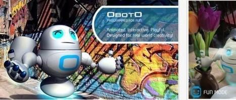 OBOTO, el nuevo robot-mascota en Realidad Aumentada para iOS | Realidad Aumentada | Scoop.it
