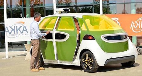 La voiture autonome débarque sur les routes françaises | SandyPims | Scoop.it