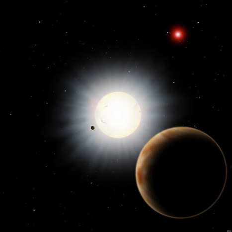 EXPLAINED: Strange Alien Planet's 'Backward' Orbit | Science is Cool! | Scoop.it