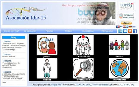 Adaptación de páginas web con pictogramas de ARASAAC: Idic15 y Equipo SIDI. | EDUCACION | Scoop.it