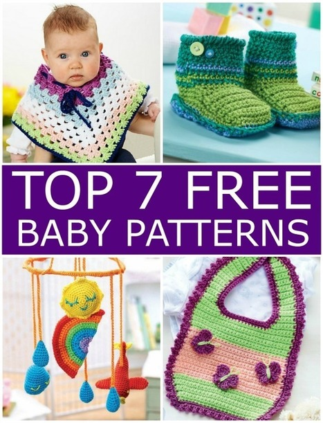 My Hobby Is Crochet: Top 7 Free Crochet Baby Patterns | Guest Post | Free crochet patterns and tutorials | Scoop.it
