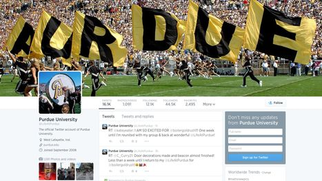 Social media accounts for all your Purdue, WL interests - Journal and Courier | Social Media and The Future of the Industry | Scoop.it