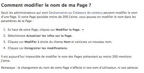 Comment Changer le Nom de votre Page Facebook ? [06/2014] | Emarketinglicious | Réseaux sociaux | Scoop.it