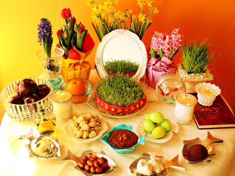 Persian New Year's Table Celebrates Nature's Rebirth Deliciously | AP Human Geography Digital Knowledge Source | Scoop.it