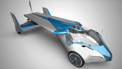 Here we fly: Aeromobil flying car prototype gets off the ground for the first time | Amazing Science | Scoop.it