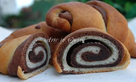 Cornetti brioche e pasta sfoglia veloce al cioccolato   lona81   Scoop.it
