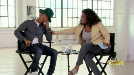 """Happy"" Makes Pharrell Cry 