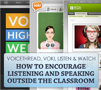 Voicethread, Voki, Listen & Watch: English Homework for Listening and Speaking | TEFL & Ed Tech | Scoop.it