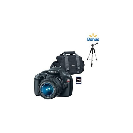 Canon Black EOS Rebel T3 Digital SLR Camera Bundle (4GB SD Card and Bag) with Additional Tripod - SwiftOrders | Buy Video Games Online | Scoop.it