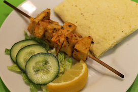 We Don't Eat Anything With A Face: Lime and Coriander Quorn Kebabs | Vegetarian Recipes | Scoop.it