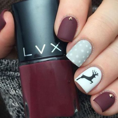 Christmas nails design idea 31 – Imagine | Fashion Home decor Tattoos Beauty Pictures | Scoop.it